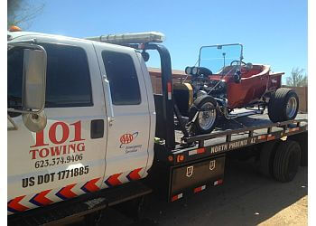 Phoenix towing company 101 Towing