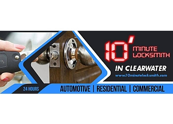 Clearwater locksmith 10 Minute Locksmith