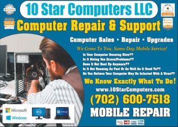 Henderson computer repair 10 Star Computers