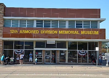 Abilene places to see 12th Armored Division Memorial Museum