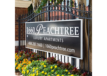 Atlanta apartments for rent 1660 Peachtree