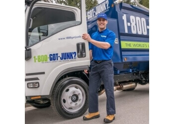 Garland junk removal 1-800-GOT-JUNK?