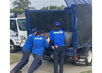 Orange junk removal 1-800-GOT-JUNK?