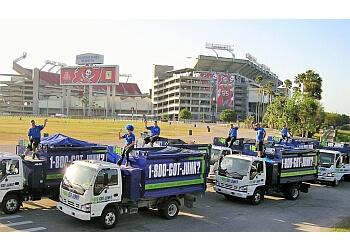 Tampa junk removal 1-800-GOT-JUNK?