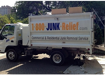 Chicago junk removal 1-800-JUNK-Relief.com