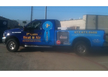 Plano hvac service 1st Class Heat & Air