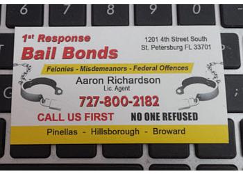St Petersburg bail bond 1st Response Bail Bonds