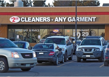 Aurora dry cleaner $2.29 Any Garment Cleaners