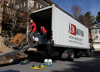 Atlanta moving company 24/7 Moving