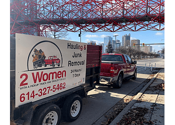 Columbus junk removal 2 Women With A Pickup Truck And Trailer Too LLC