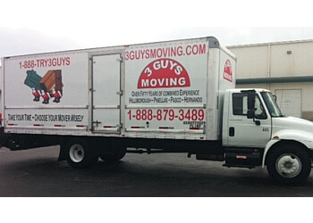 Tampa moving company 3 GUYS MOVING