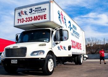 Houston moving company 3 Men Movers
