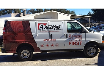 Orlando hvac service 4 Seasons Air Conditioning & Heating, Inc.