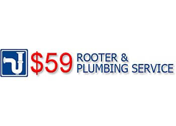 Phoenix plumber $59 Rooter & Plumbing Service