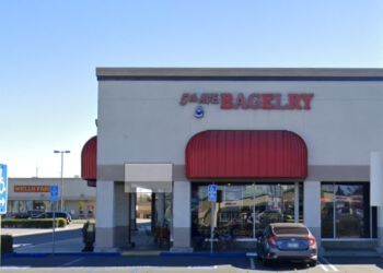 Anaheim bagel shop 5th Ave Bagelry