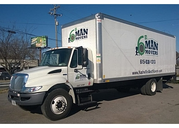 Nashville moving company 6th Man Movers
