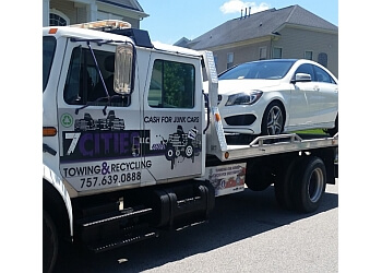 Chesapeake towing company 7 Cities Towing & Recycling