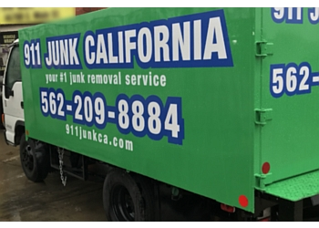 Anaheim junk removal 911 Earth Project
