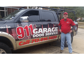 Houston garage door repair 911 Garage Door Service, Inc