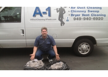 Irvine chimney sweep A-1 Duct Cleaning and Chimney Sweep