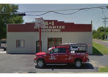 Springfield roofing contractor A-1 Guarantee Roofing
