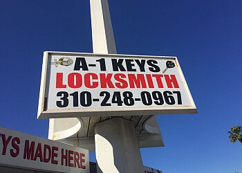 Los Angeles locksmith A1 Locksmith & Keys