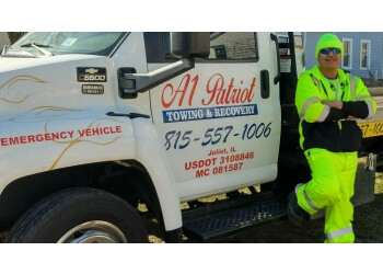 Joliet towing company A1 Patriot Towing & Recovery