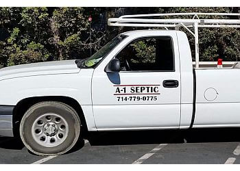 Anaheim septic tank service A-1 Septic