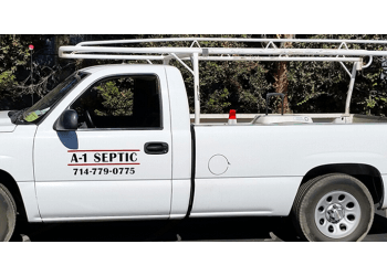 Orange septic tank service A-1 Septic