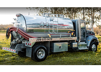Modesto septic tank service A-1 Septic Service