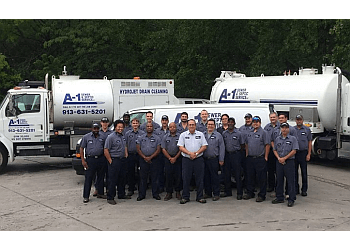 Overland Park septic tank service A-1 Sewer & Septic Service Inc.