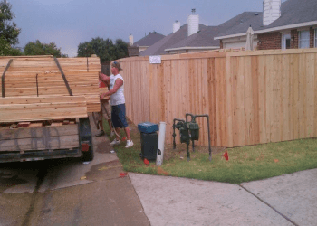 McKinney fencing contractor A-1 Texas Construction