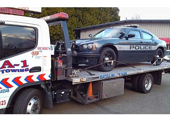 Seattle towing company A-1 Towing & Roadside Service, Inc.