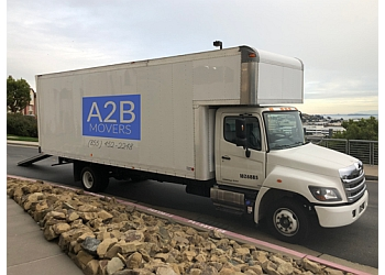 San Jose moving company A2B Movers