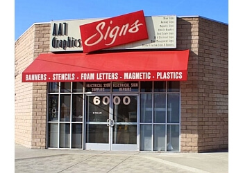 Glendale sign company AA1 Graphics & Signs
