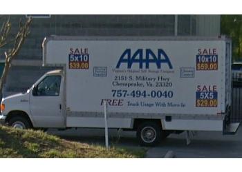 Chesapeake storage unit AAAA Self Storage