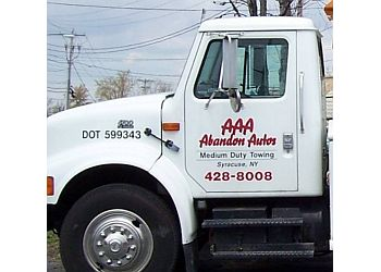 Syracuse towing company AAA Abandon Auto
