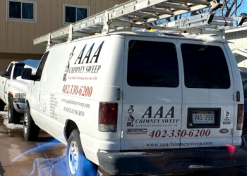 Omaha chimney sweep AAA Chimney Sweep