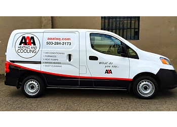 Portland hvac service AAA Heating & Cooling, Inc.