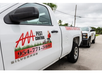 Fort Lauderdale pest control company AAA Pest Control
