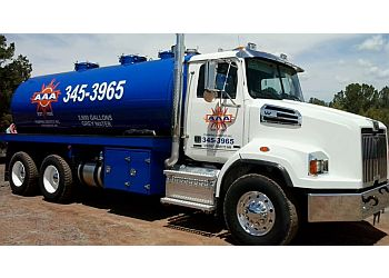 Albuquerque septic tank service AAA Pumping Services
