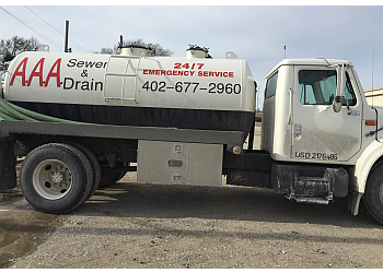 Omaha septic tank service AAA Sewer and Drain
