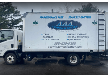 Worcester gutter cleaner AAA Window and Gutter Cleaners