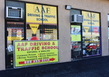 Fontana driving school AAF DRIVING & TRAFFIC SCHOOL