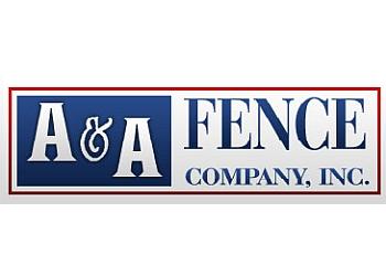Moreno Valley fencing contractor A & A Fence Co, Inc.