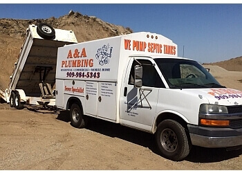 Ontario plumber A & A Plumbing & Rooter Service