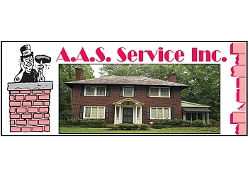 Akron chimney sweep A.A.S. Service Inc.