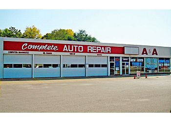 Indianapolis car repair shop A & A Tire and Auto Service