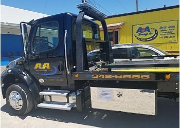 Reno towing company A&A TOWING, INC.