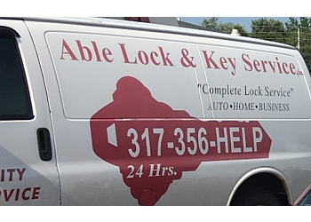 Indianapolis locksmith A-Able Lock & Key Service LLC.
